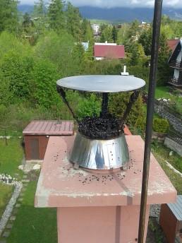 Kontrola čistenie komínov poprad